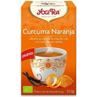 yogi tea cúrcuma naranja