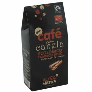 café molido aromatizado canela