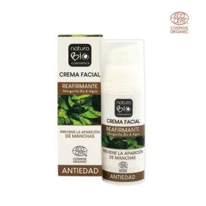 crema facial reafirmante Natura Bio