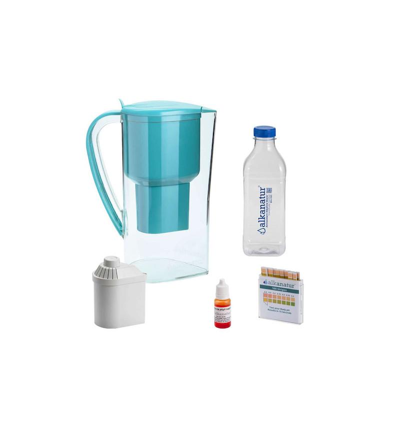 complementos jarra agua alcalina drops alkanatur
