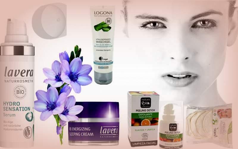 Cuidado facial cosméticos bio