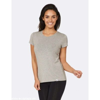 camiseta mujer gris S