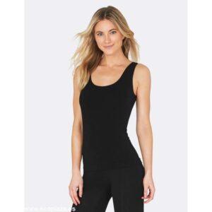 camiseta negra sin mangas S