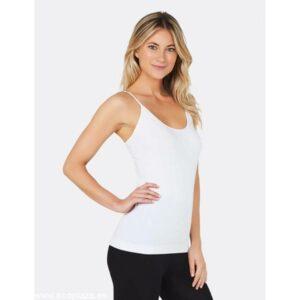 camiseta tirantes blanca L