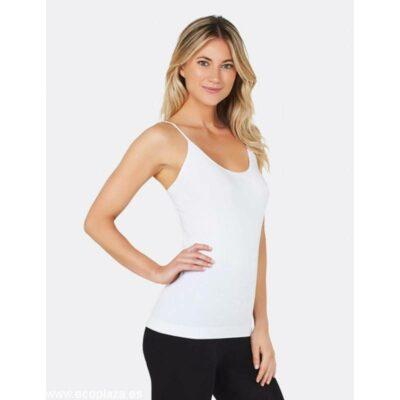 camiseta tirantes blanca S