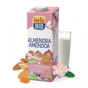 bebida vegetal de almendra Isola Bio