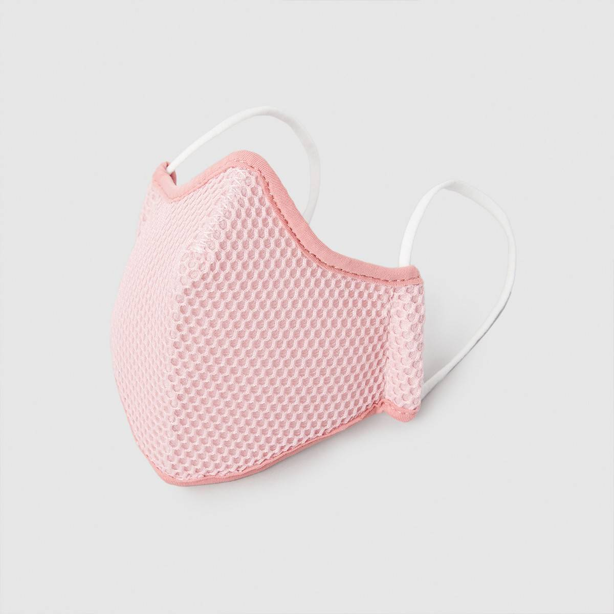 mascarilla higiénica reutilizable rosa