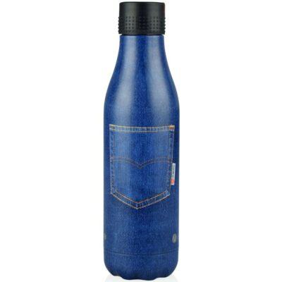 botella termo blue jean