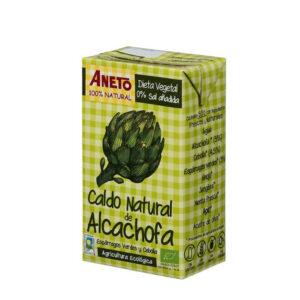 caldo alcachofa Aneto