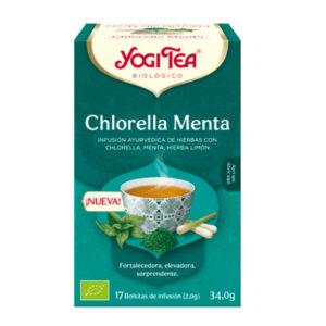 yogi tea chlorella menta