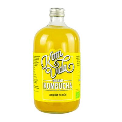 kombucha jengibre y limón 750