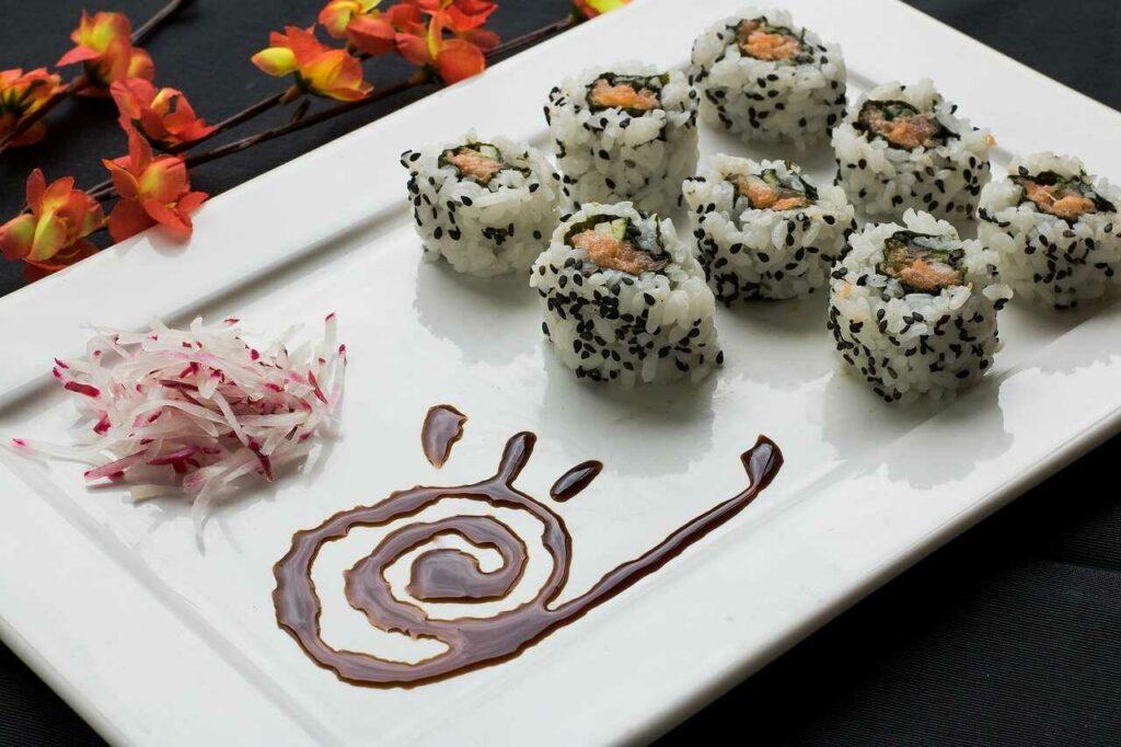 plato típico alimentación japonesa