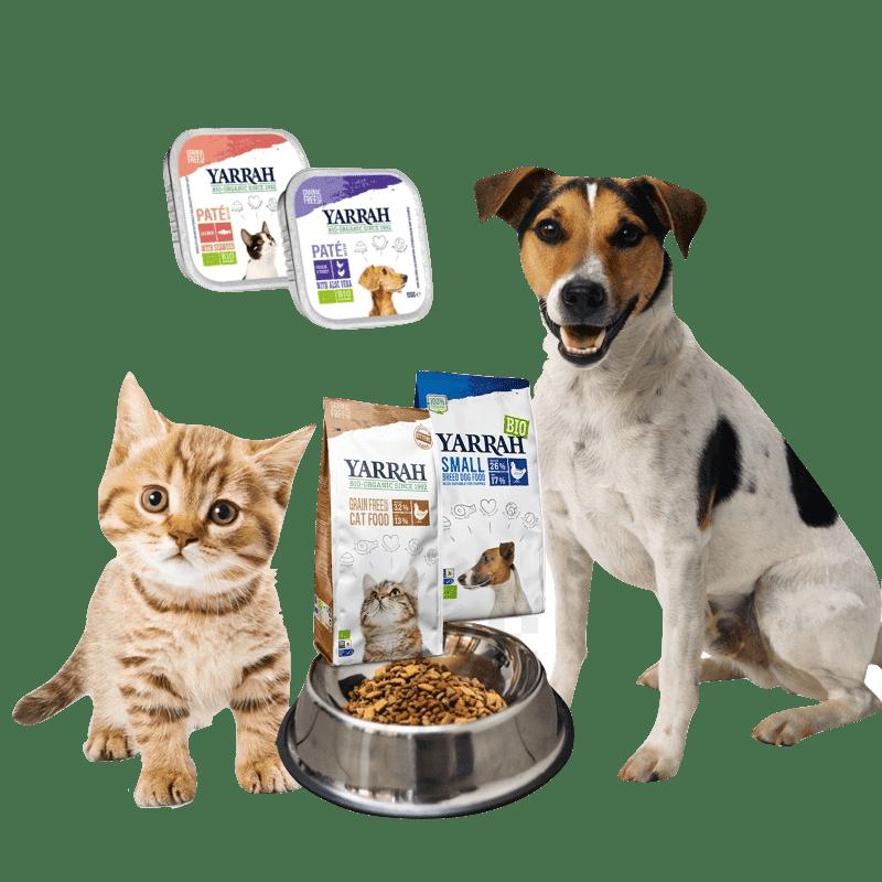 alimento orgánico mascotas